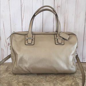 Coach F25296 Taylor Leather Satchel Handbag